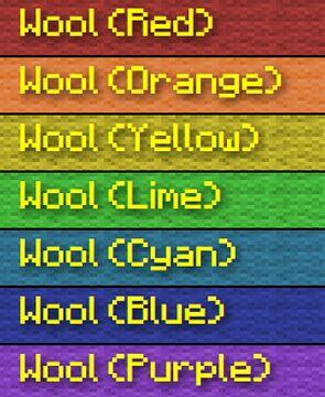 Rainbow Superflat Preset - 1.8-1.17 Minecraft Blog
