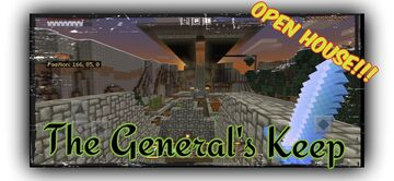 MineMaster Monday: OPEN HOUSE at the General's Keep!!! Minecraft Blog