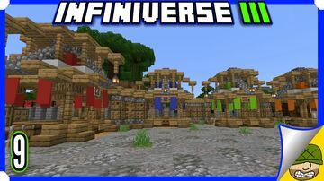 A Very Bare Market   9   Minecraft Infiniverse S3 Minecraft Blog