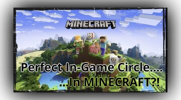 Minecraft Witch Does Impossible, Creates Perfect In-Game Circle Minecraft Blog