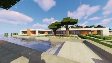 Minecraft: Large House Idea (with interior) | Brook Minecraft Blog