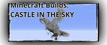Minecraft Builds: CASTLE IN THE SKY Minecraft Blog