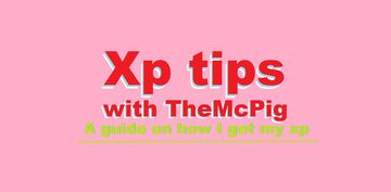 Xp tips with TheMcPig Minecraft Blog