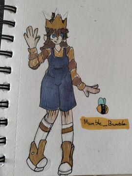 Hey this is some art of my OC/mc skin :DD Minecraft Blog