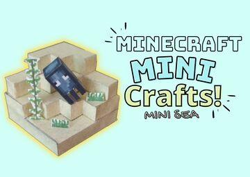 (𝗠𝗶𝗻𝗶-𝗠𝗖-𝗦𝗲𝗮)(Arts and crafts paper print) Minecraft Blog