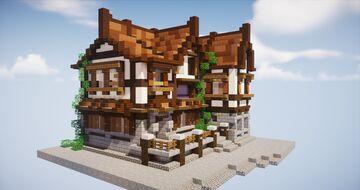 Wattle and daub // corner shop & house - Minecraft 1.12.2 Minecraft Blog