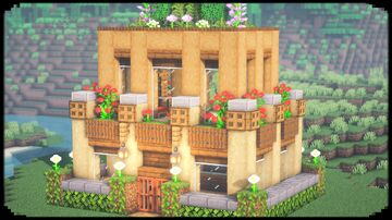 How to Build Wooden House Minecraft Blog