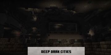 is anyone else seeing a portal as the middle point of the deep dark city's Minecraft Blog