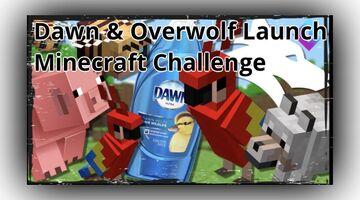 Dawn and Overwolf Launch #DawnSavesWildlife Minecraft Challenge Minecraft Blog