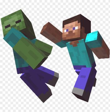 Why zombies are dressed like Steve. part2 Minecraft Blog