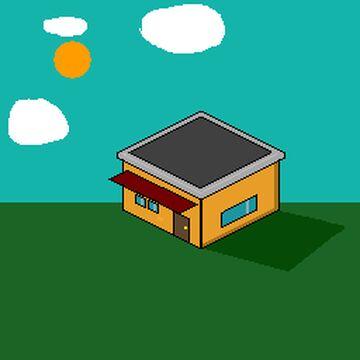 My first isometric pixel art Minecraft Blog