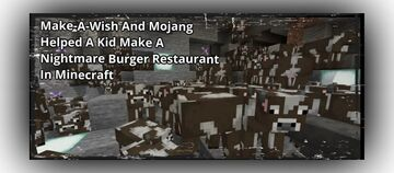 Make-A-Wish And Mojang Helped A Kid Make A Nightmare Burger Restaurant In Minecraft Minecraft Blog