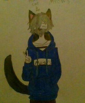 REMADE MY OC *HUNTER CAT* Minecraft Blog