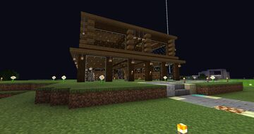 My new stable in Fortaleza Minecraft Blog