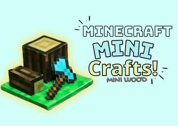 (𝗺𝗶𝗻𝗶-𝗪𝗼𝗼𝗱-𝗙𝗶𝗴𝘂𝗿𝗲)𝘼𝙧𝙩𝙨 𝙖𝙣𝙙 𝙘𝙧𝙖𝙛𝙩𝙨 𝙥𝙖𝙥𝙚𝙧 𝙥𝙧𝙞𝙣𝙩 Minecraft Blog