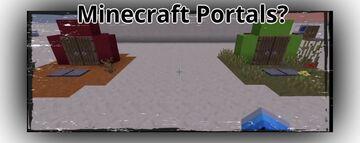Minecraft Redditor creates working portals using floating ender pearls Minecraft Blog
