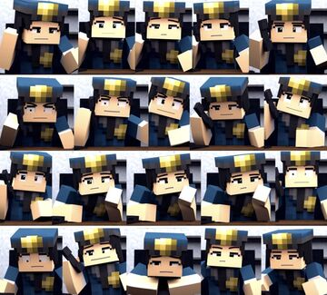 20 Types Of Officer Eileen's Faces Minecraft Blog