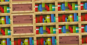 Minecraft Player Creates Real, Near Life-Sized Bookshelf Block Minecraft Blog