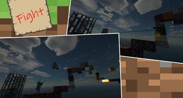Battle on one block Minecraft Blog