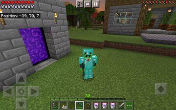 Diamond armor acquired !. Minecraft Blog
