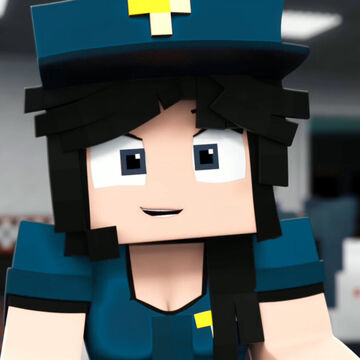 New Officer Eileen Model (Purple Girl's Blue Color Textures) Minecraft Blog