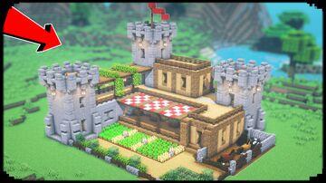 Build a Castle Minecraft Blog