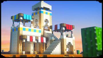 Simple Desert Base Minecraft Blog