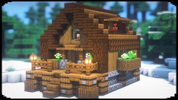 Simple House Minecraft Blog