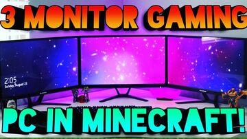 3 Monitor Gaming PC Build trick! Minecraft Blog