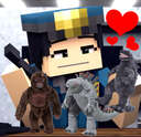 What If Officer Eileen Buys Her New Godzilla Vs. Kong Plushies❤️🧸 Minecraft Blog