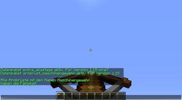 Crossbow Maschine Gun Minecraft Data Pack