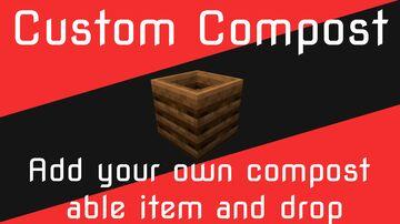 Custom Compost Minecraft Data Pack