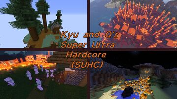 Kyu and Q's SUHC(Harder survival, Structures, Multiple difficulties, 1.16.3, Multiplayer Compatible) Minecraft Data Pack