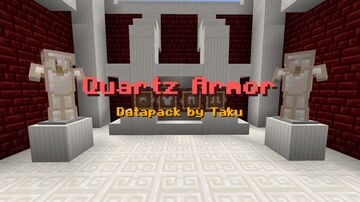 Quartz Armor Datapack by Taku Minecraft Data Pack