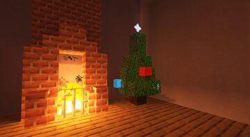 Realistic Christmas Tree Minecraft Data Pack