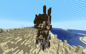 Minecraft but columns of blocks randomly move up and down Minecraft Data Pack