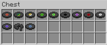 Craftable Music Disks Minecraft Data Pack