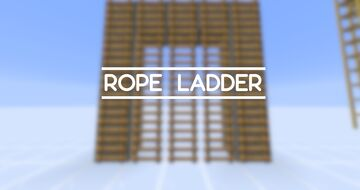 Rope Ladder Datapack Minecraft Data Pack