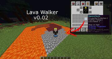 Lava Walker v0.02 Minecraft Data Pack
