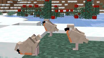 Christmas Animals (PENGUINS, REINDEER, ROBINS) Minecraft Data Pack