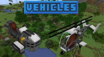WHCF Vehicles Minecraft Data Pack