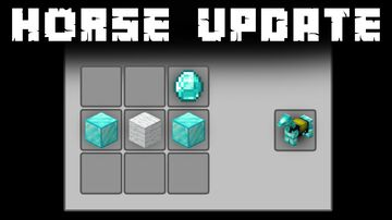 Horse Update (Recipes for Saddle & Horse Armors) Minecraft Data Pack