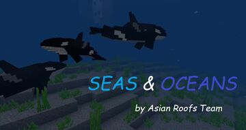 Seas and Oceans (by Asian Roofs Team) for MCPE Minecraft Mod