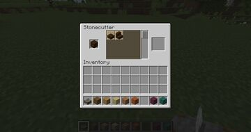 Stone cutter with wooden planks recipes Minecraft Data Pack