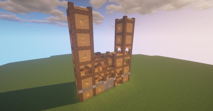 structure tower wall