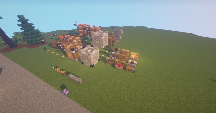structures used to generate build