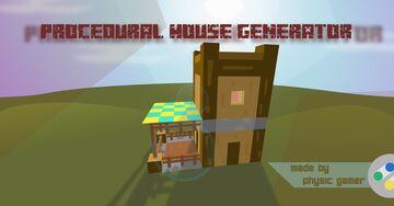 Procedural House Generator Minecraft Data Pack