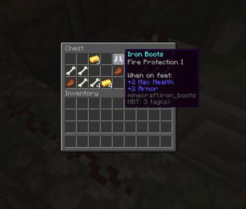 Better Loot - More rare loot in dungeons, new items, changes to existing mob and chest loot Minecraft Data Pack