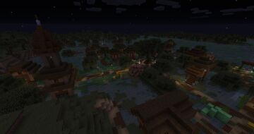 Swamp Villages! Minecraft Data Pack