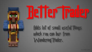 Better Wandering Trader Minecraft Data Pack